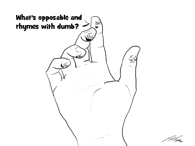 #32: One Thumb Down